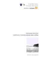 Akcijski plan održivog razvoja turizma grada Mali Lošinj : konačni izvještaj